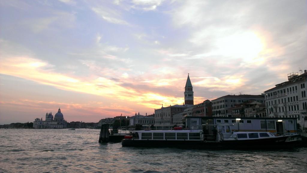 Abenddämmerung Venedig