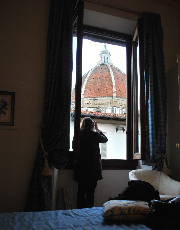 Blick vom Palazzo Ruspoli