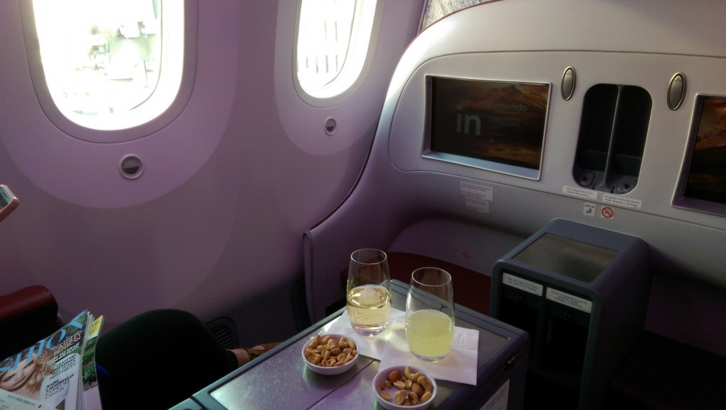 Business Class Dreamliner