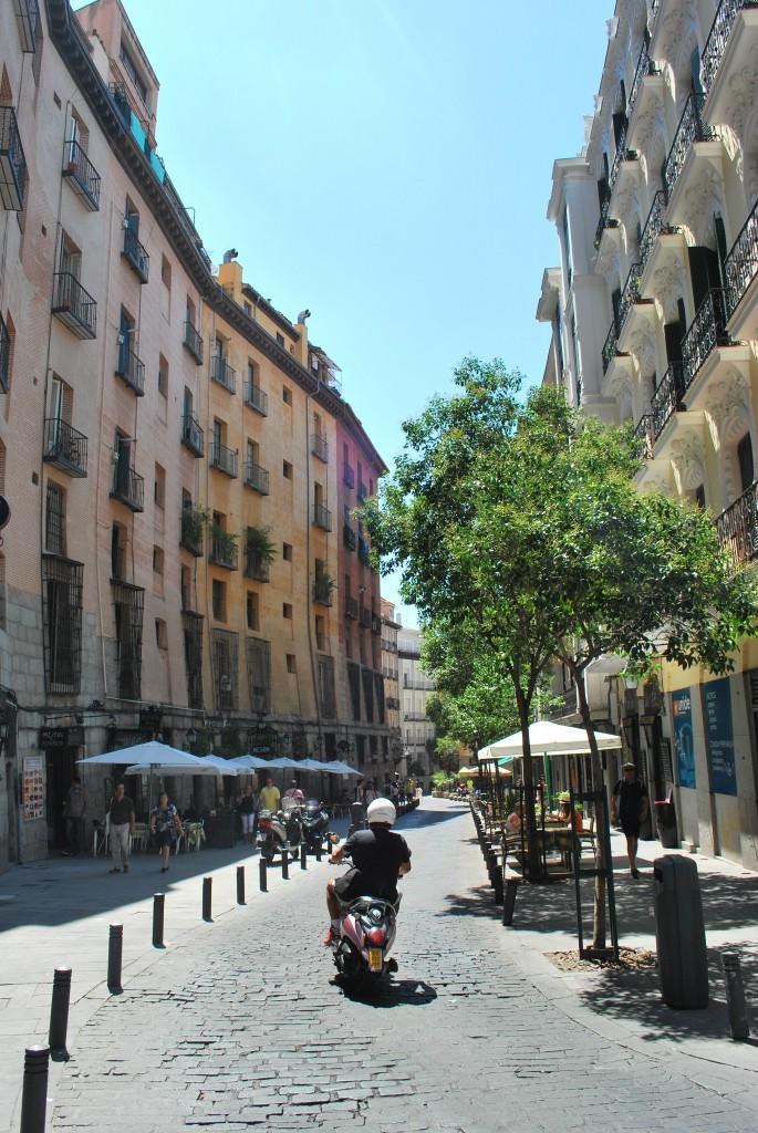 Straße Madrid