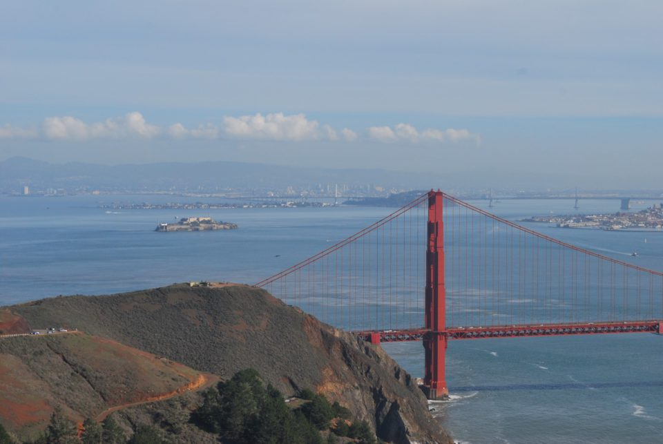 Golden Gate Bridge und Alcatraz