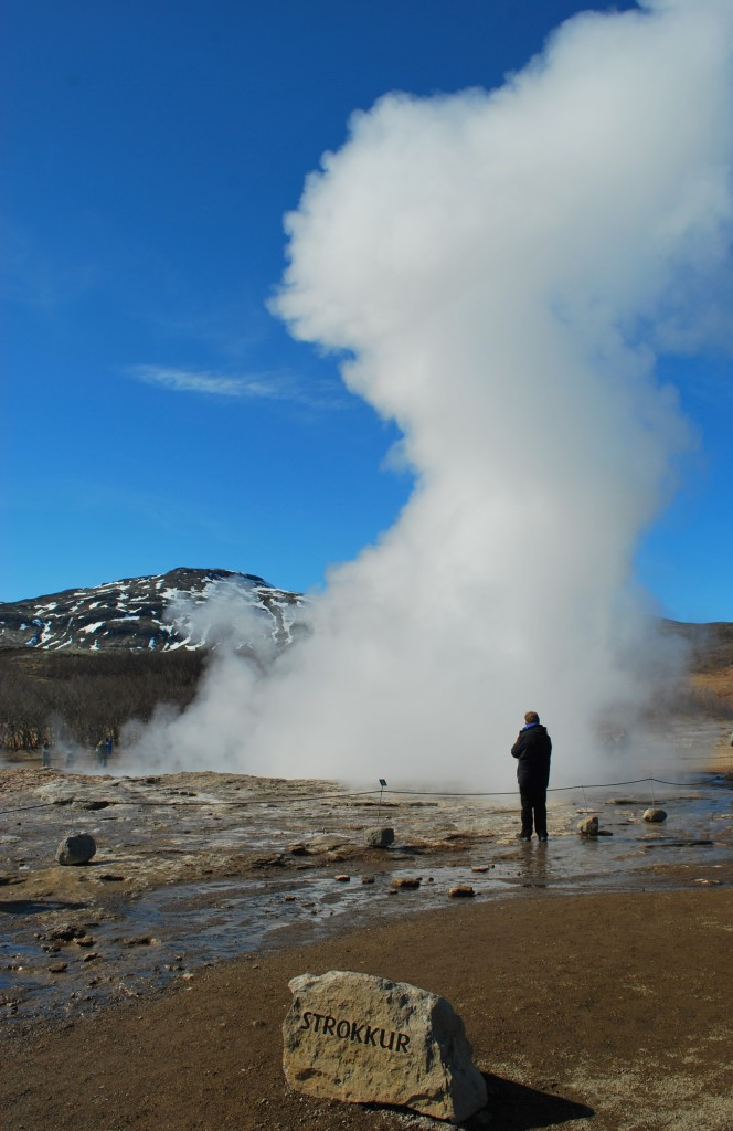 Strokkur in Island