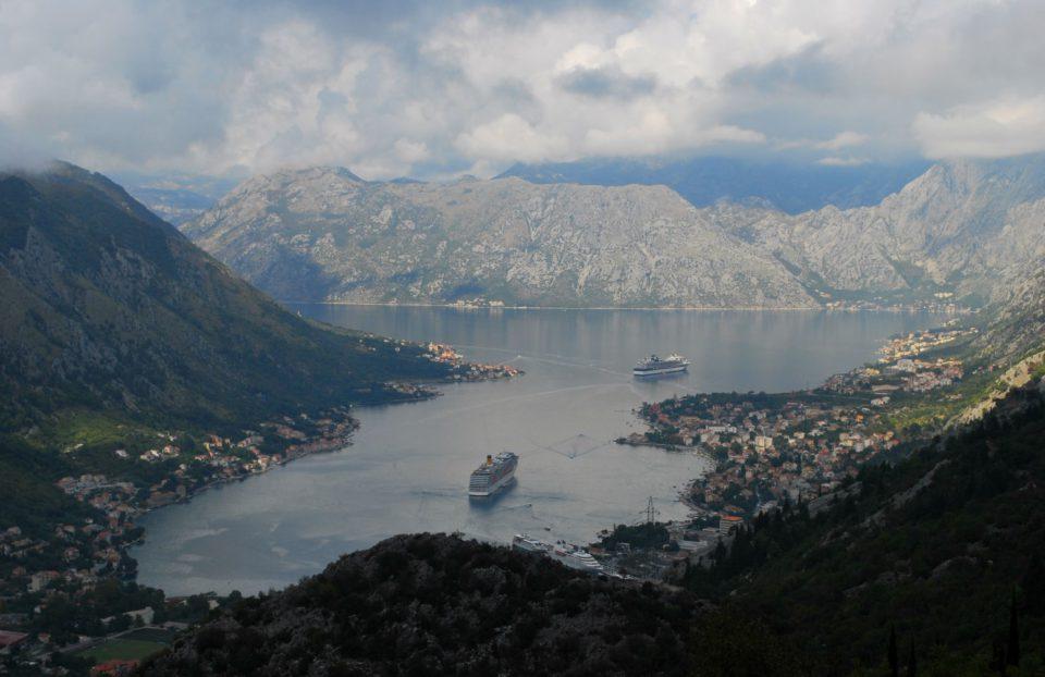 Bucht von Kotor - Blick auf Kotor
