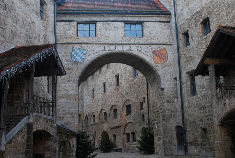Hauptburg der Burg zu Burghausen