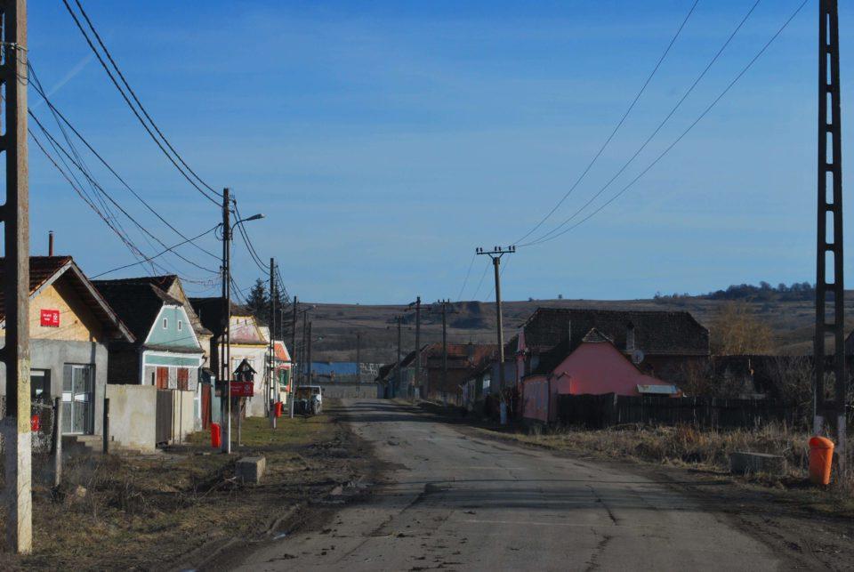 Dorf Transsilvanien