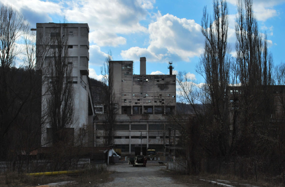 Hunedoara Industrieruinen