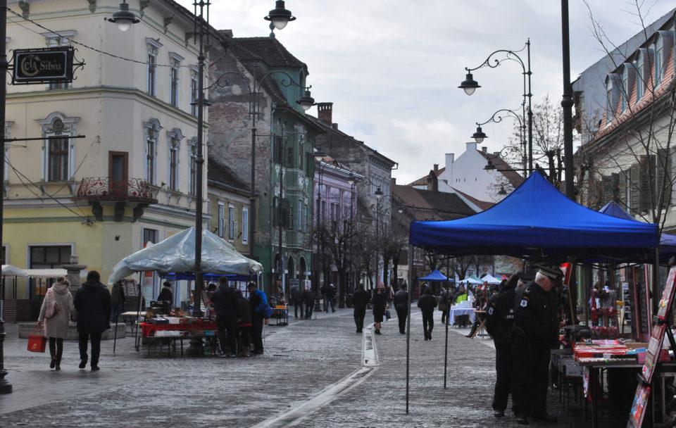 Sibiu Fußgängerzone
