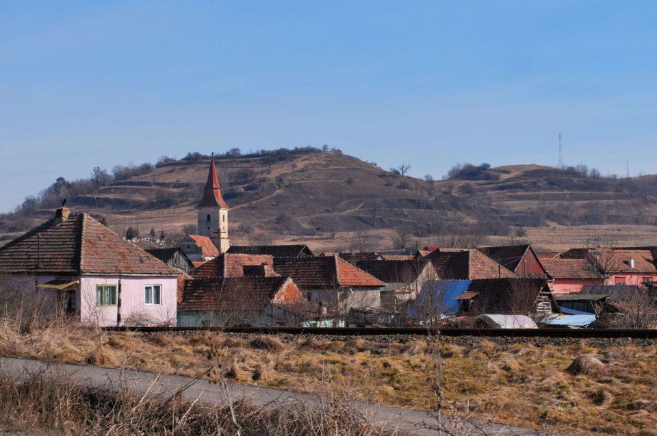 Landschaft in Transsilvanien