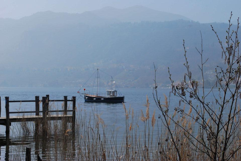 Lago d'Orta im Umland von Mailand
