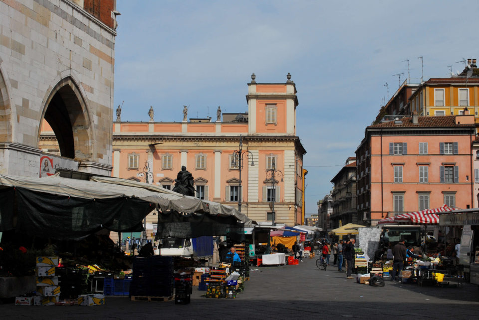 Marktplatz in Piacenza