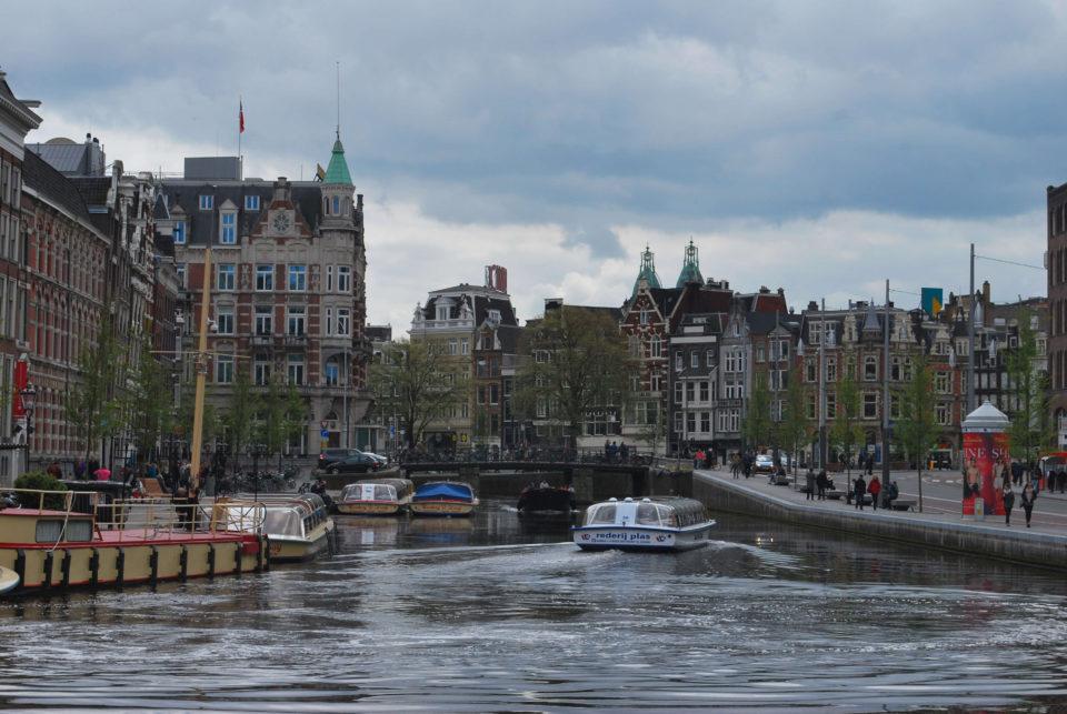 Amsterdam Boote und Grachten