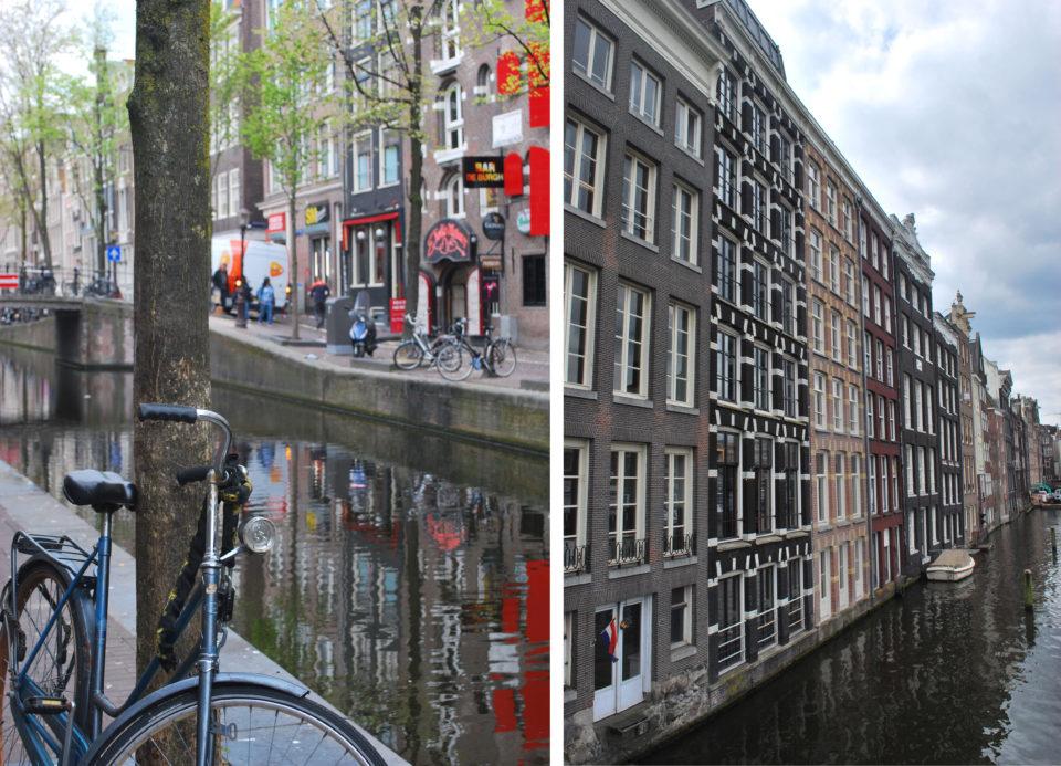 Amsterdam Stadt der Räder