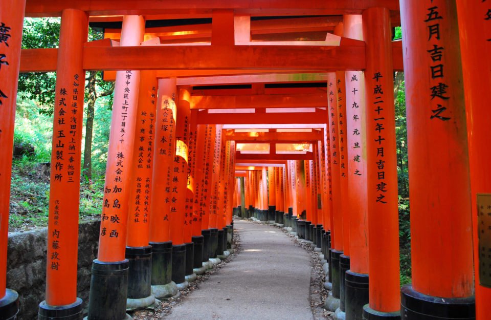 Fushimi Inari-Taisha tori