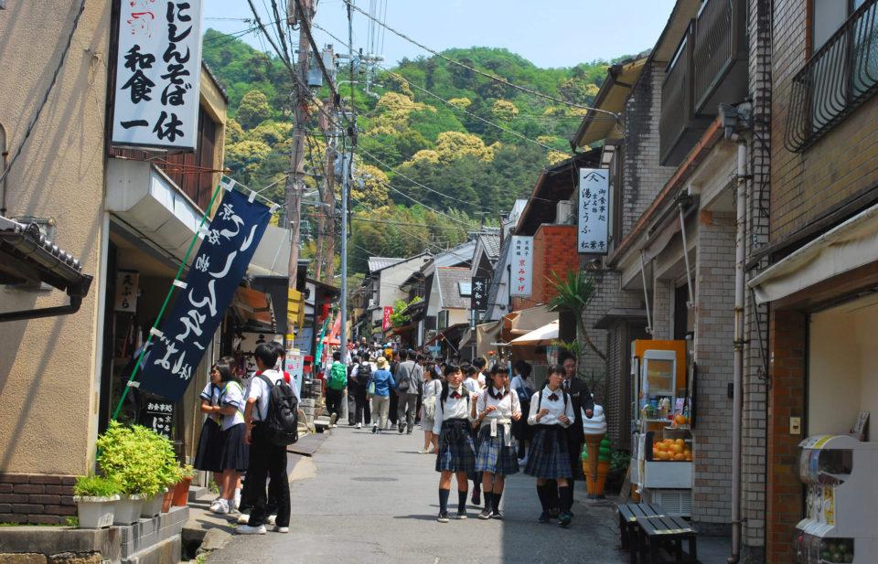 Kiyomizu-dera umgebung