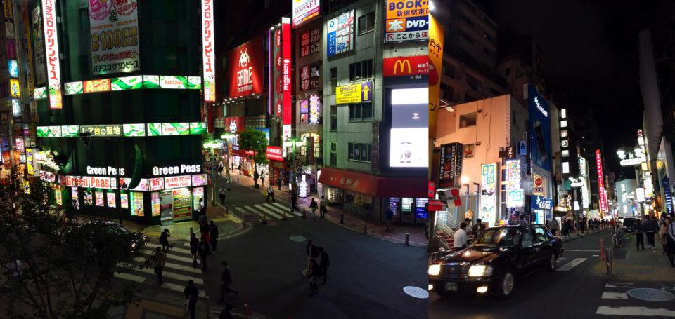 nachtleben in tokyo
