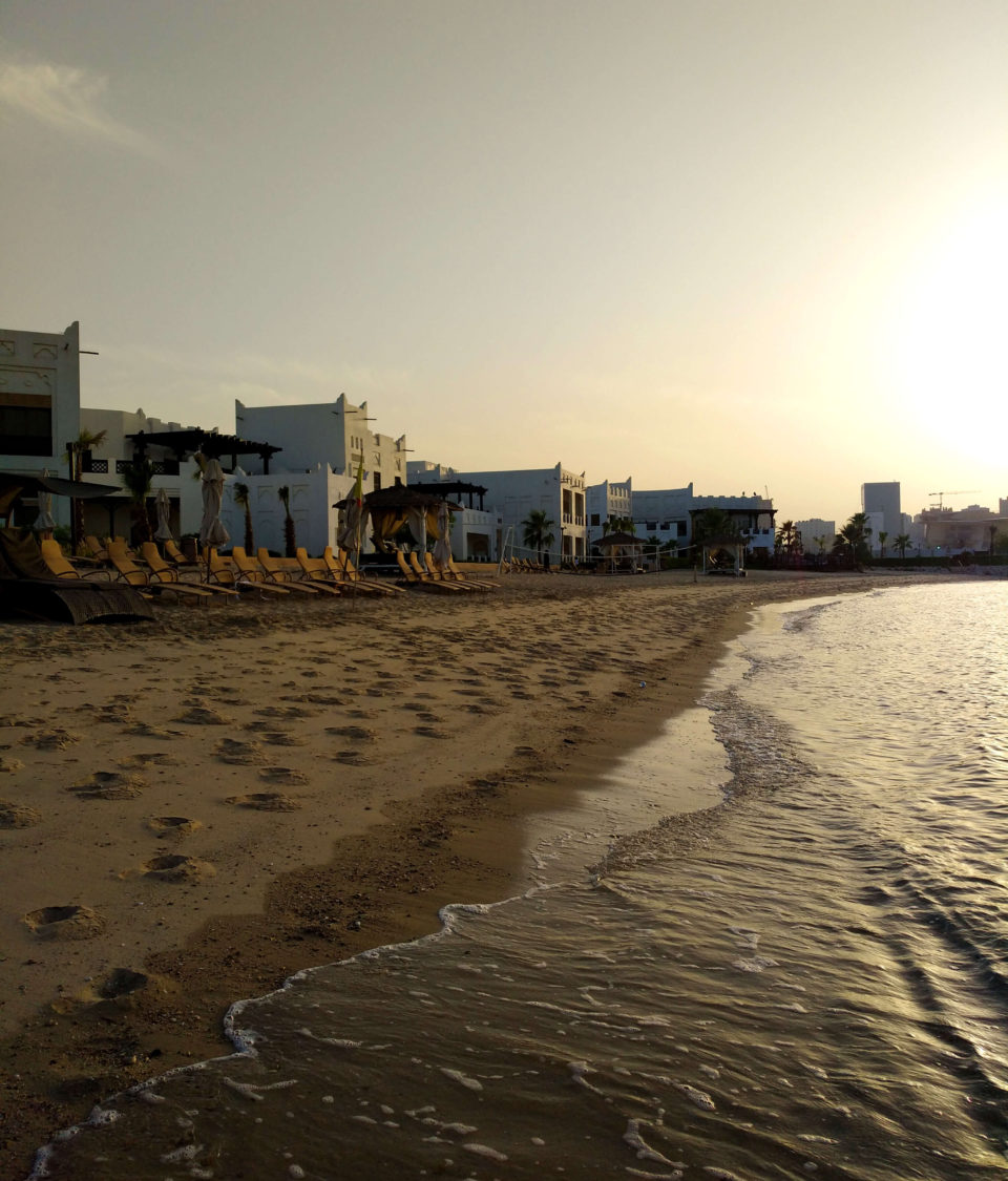 sharq village beach