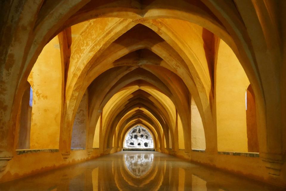 Alcazar Sevilla Bäder Maria de Padilla