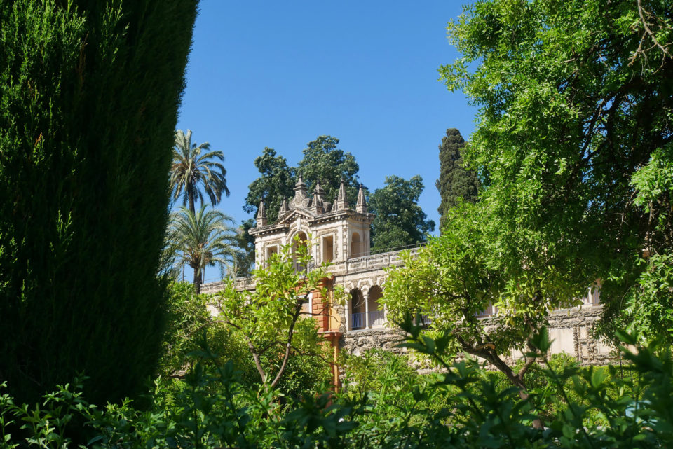 Gärten Alcazar Sevilla