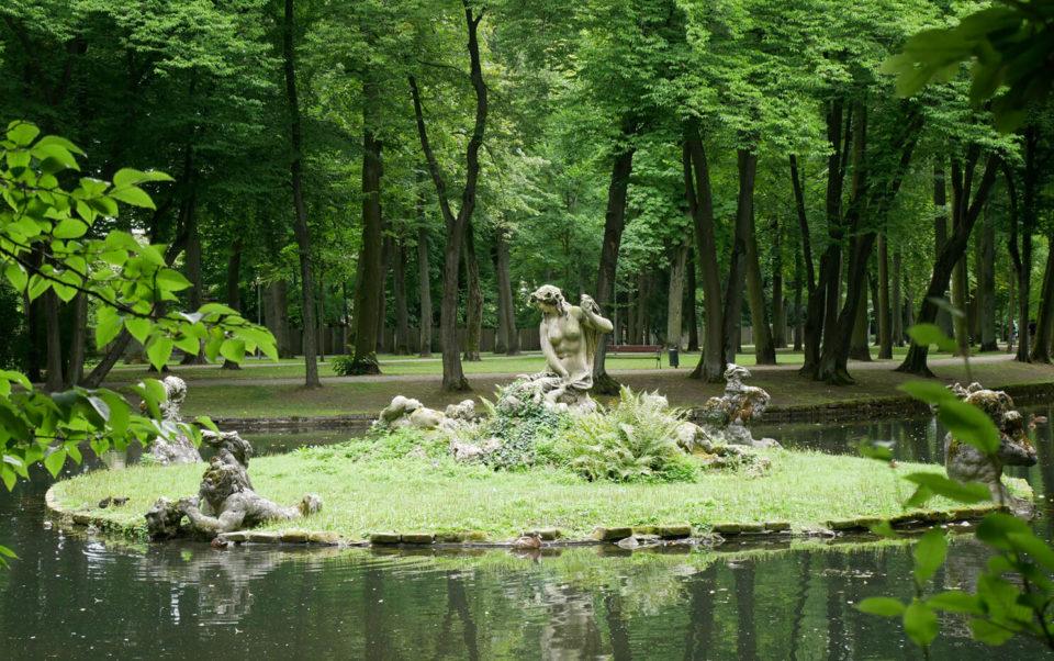 Neues Schloss Bayreuth Park