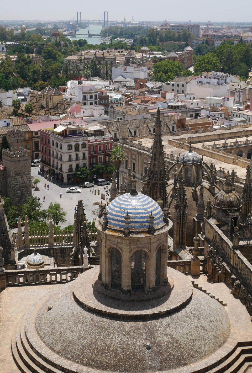 Sevilla Blick von Kathedrale