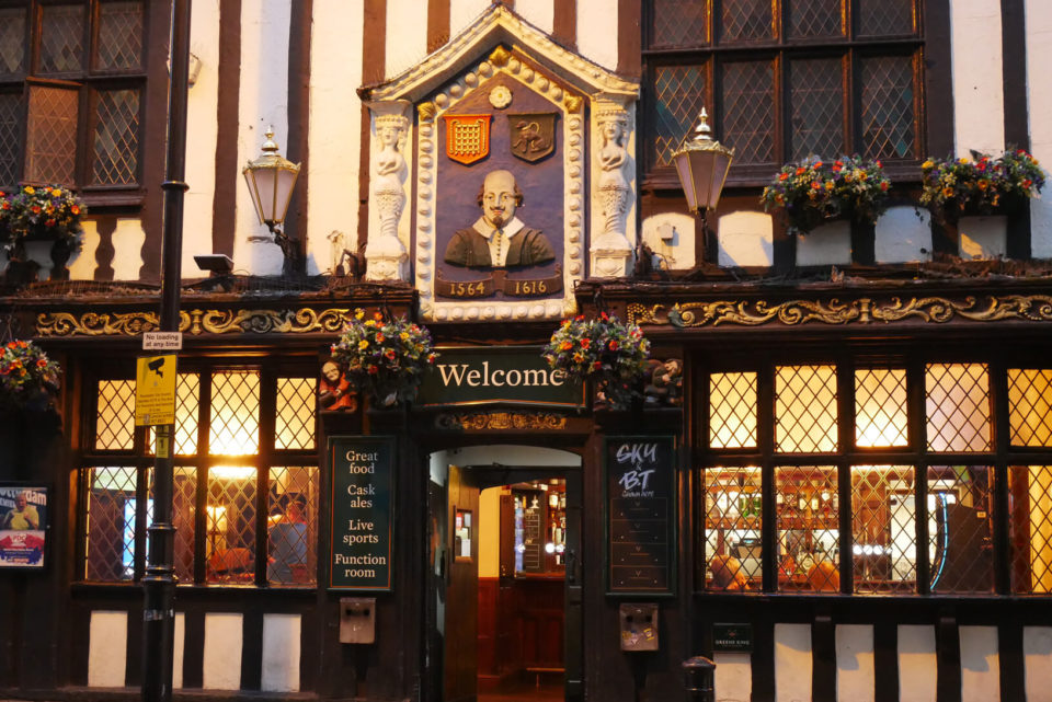 Shakespeare Pub Manchester