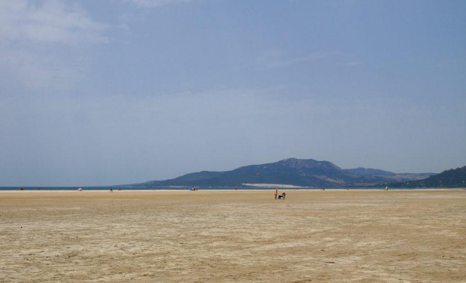 Strand Tarifa Spanien