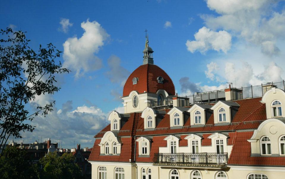 Ausblick Molo Hotel Sopot Centrum
