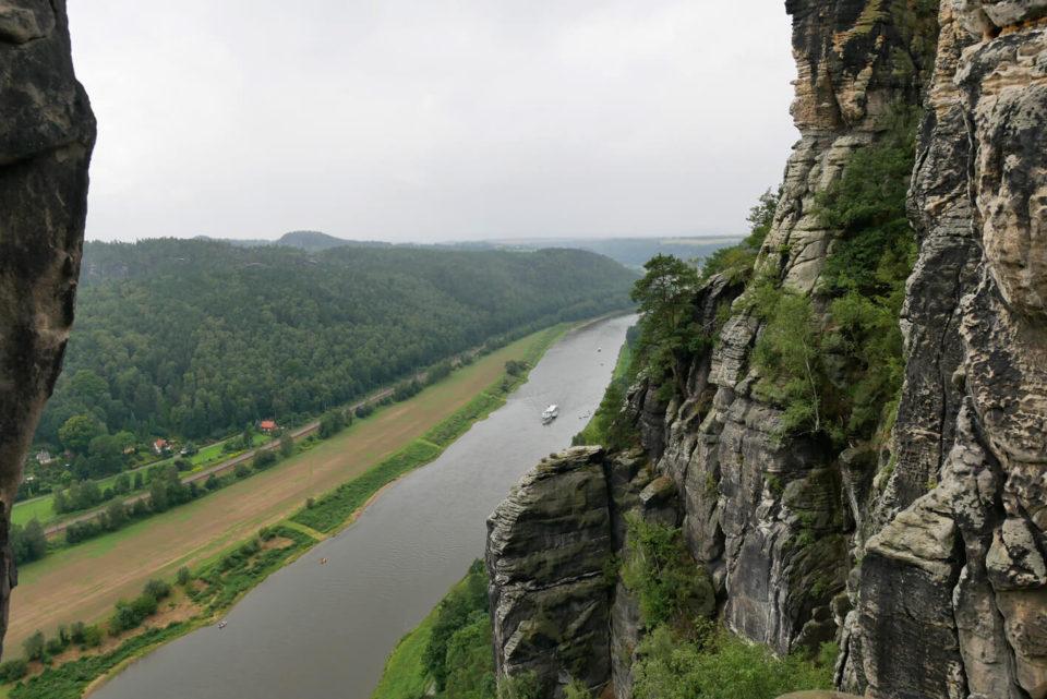 Bastei Flussblick