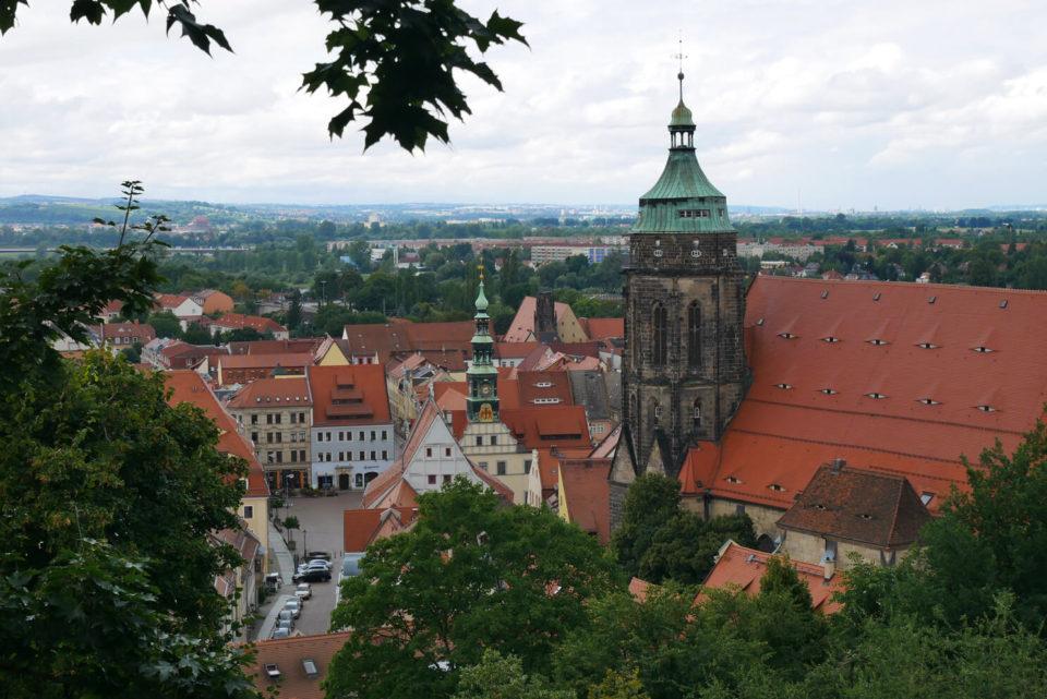 Blick auf Pirna Sachsen