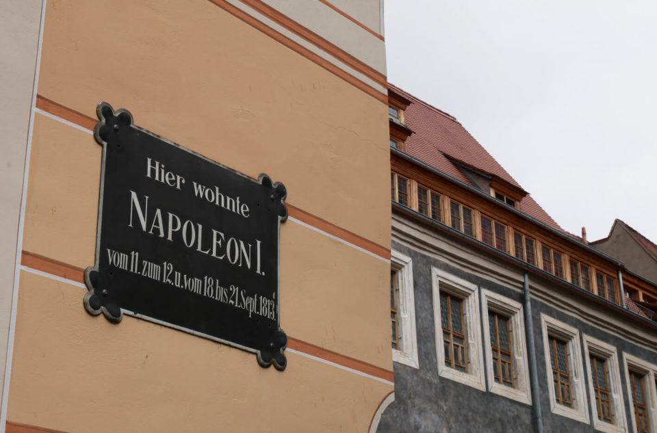 Napleon in Pirna