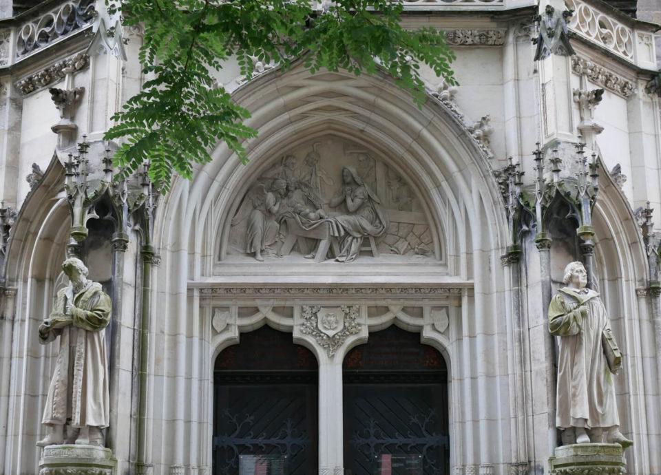 Pirna Kirchenportal