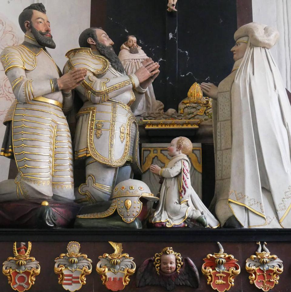 Dom zu Oliva Figuren