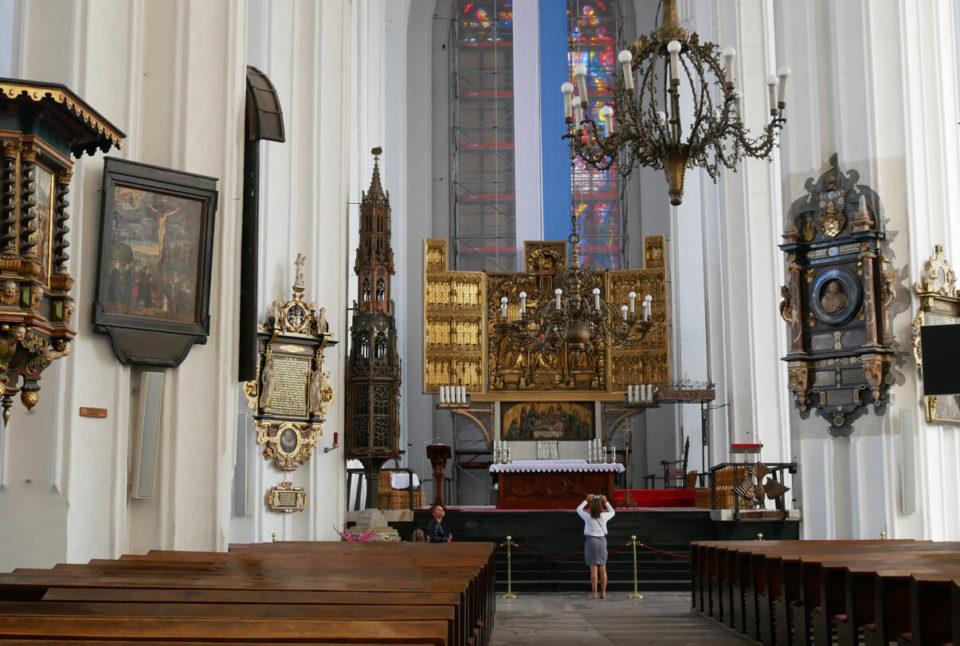Marienkirche Danzig Innenraum