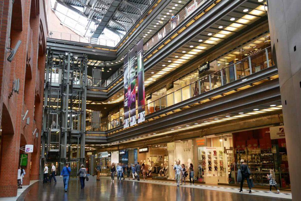 Posen Brauerei Shopping Mall