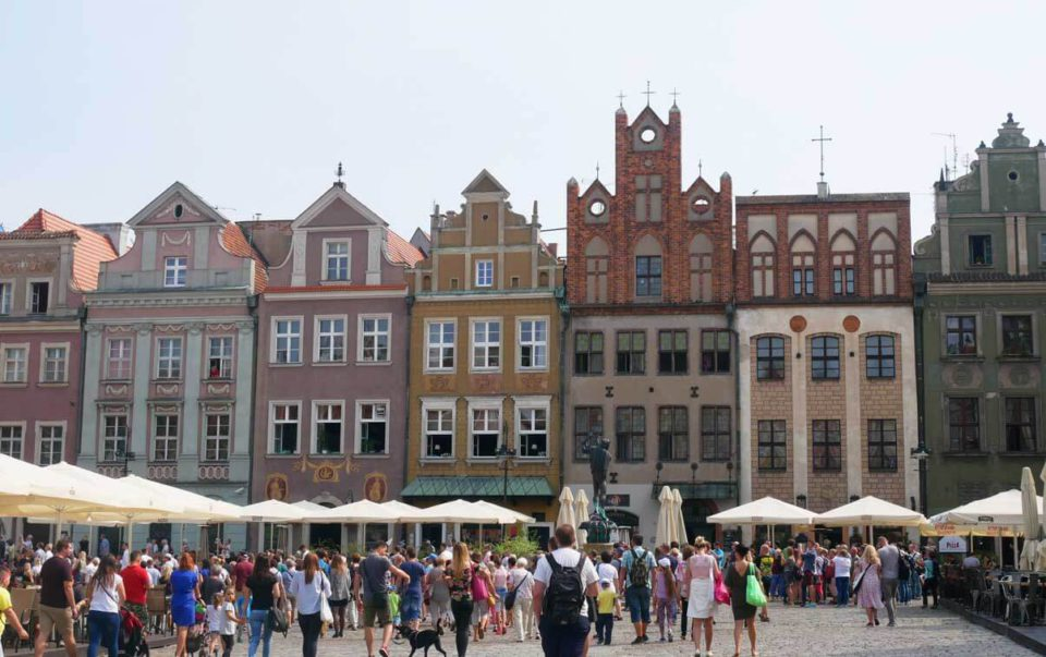Posen Marktplatz Häuser