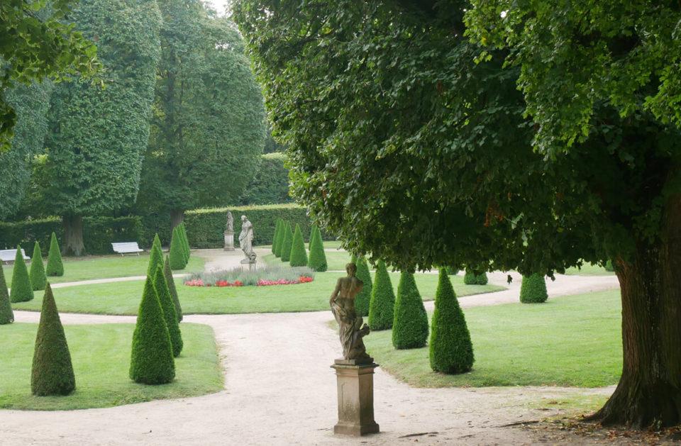 Schloss Rogalin Garten