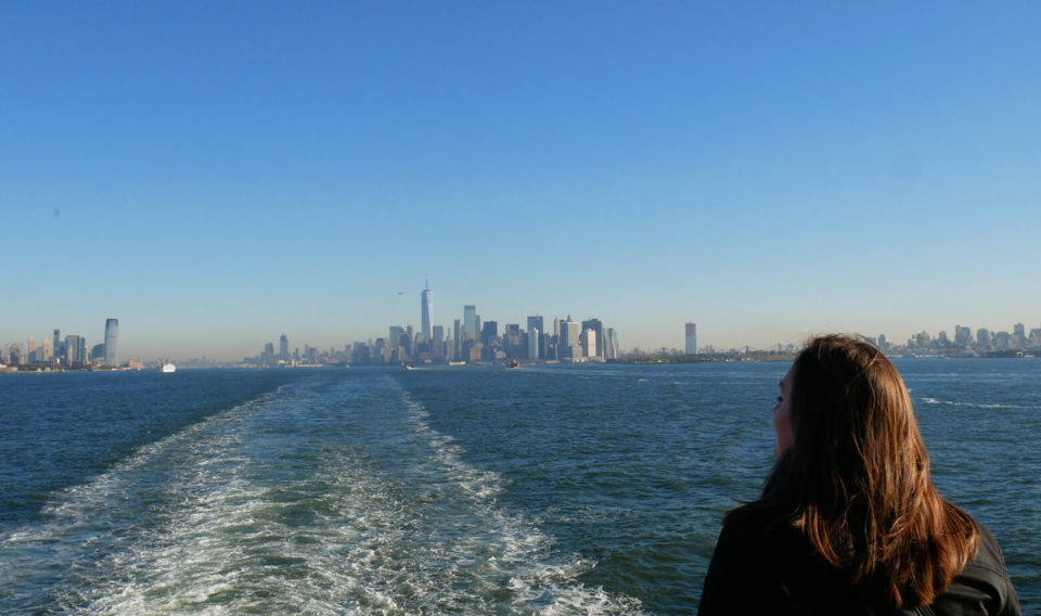 Skyline Manhattan Ferry