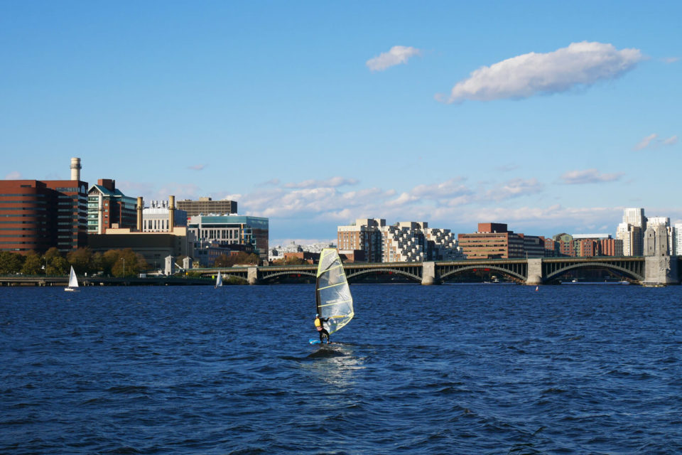 boston sailing Charles river