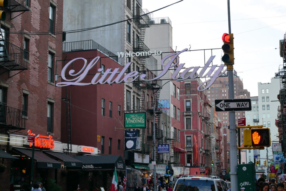 little italy manhattan