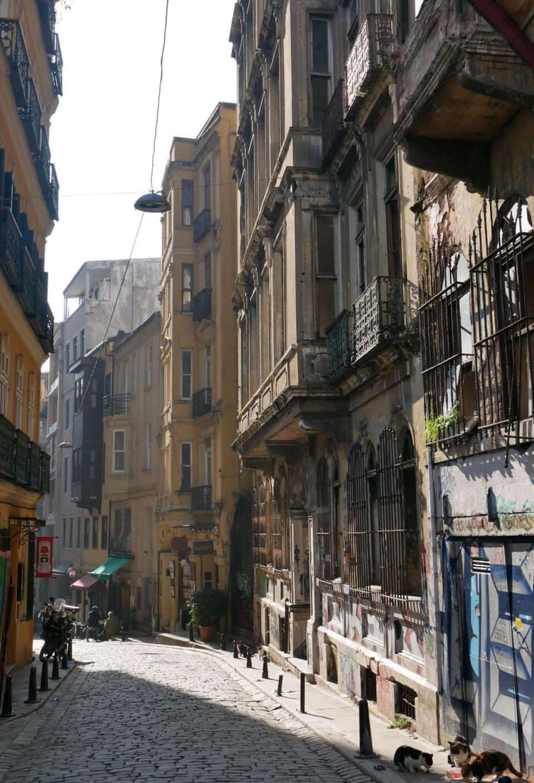 Galata Istanbul streets