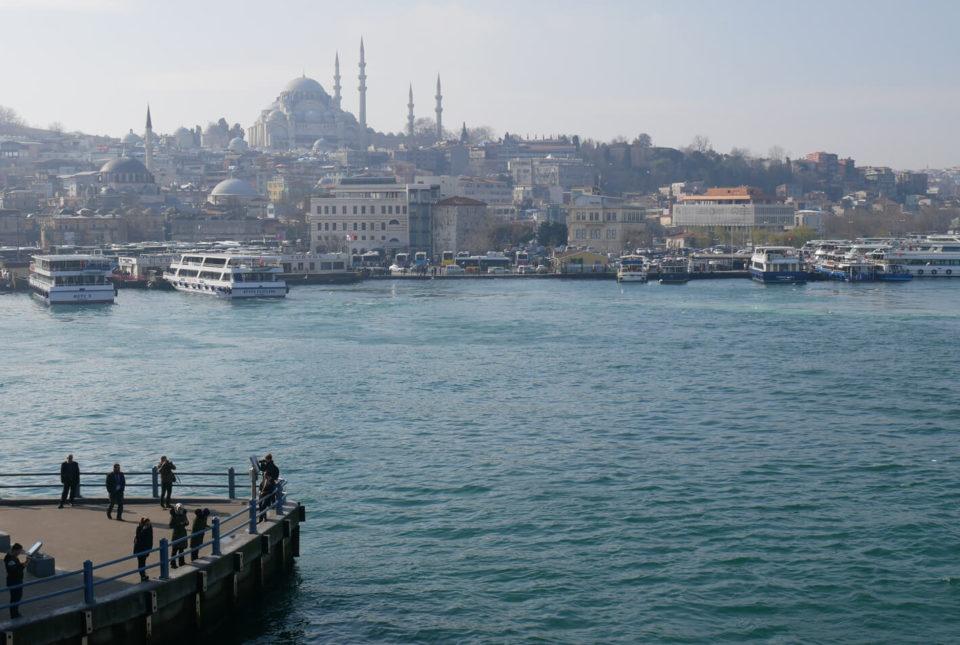 Istanbul Galatabrücke