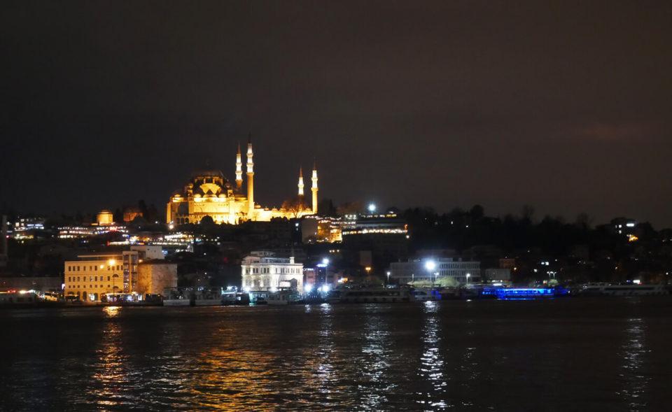 bosporus nacht