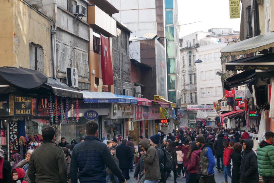 istanbul altstadt menschenmengen