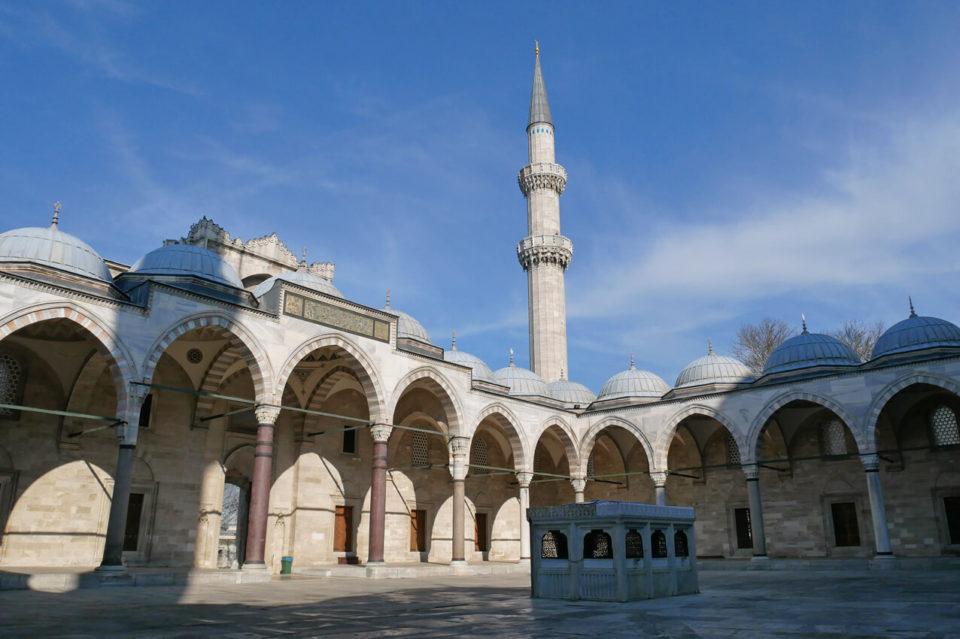 süleyman moschee hof
