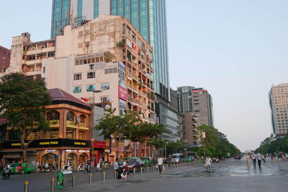 Ho Chi Minh Stadt Zentrum