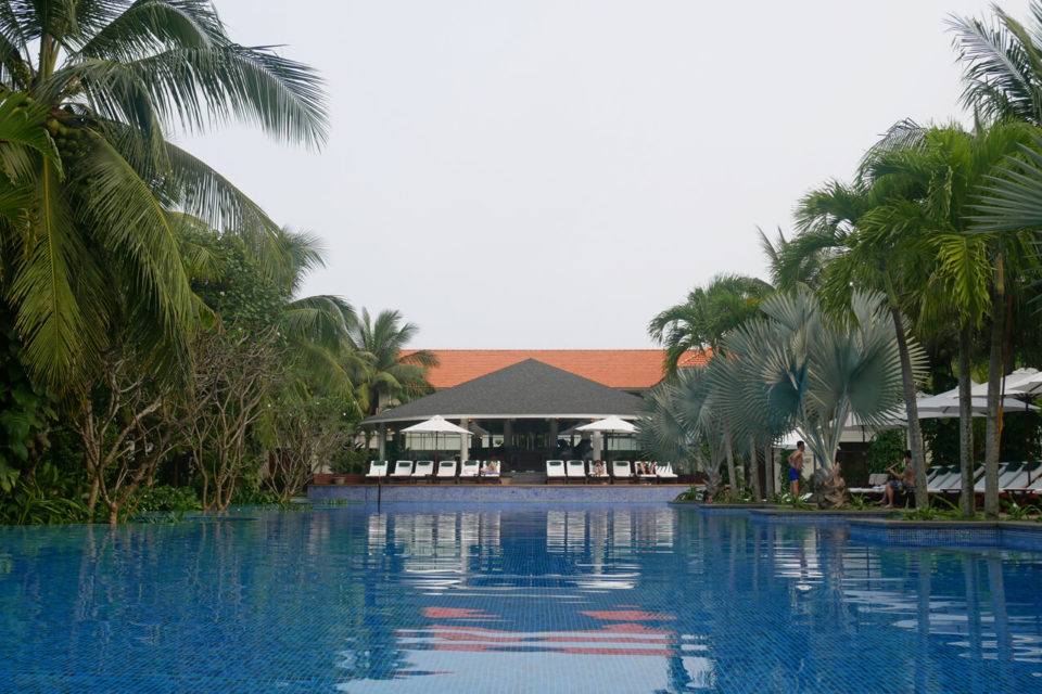 furama resort villas pool