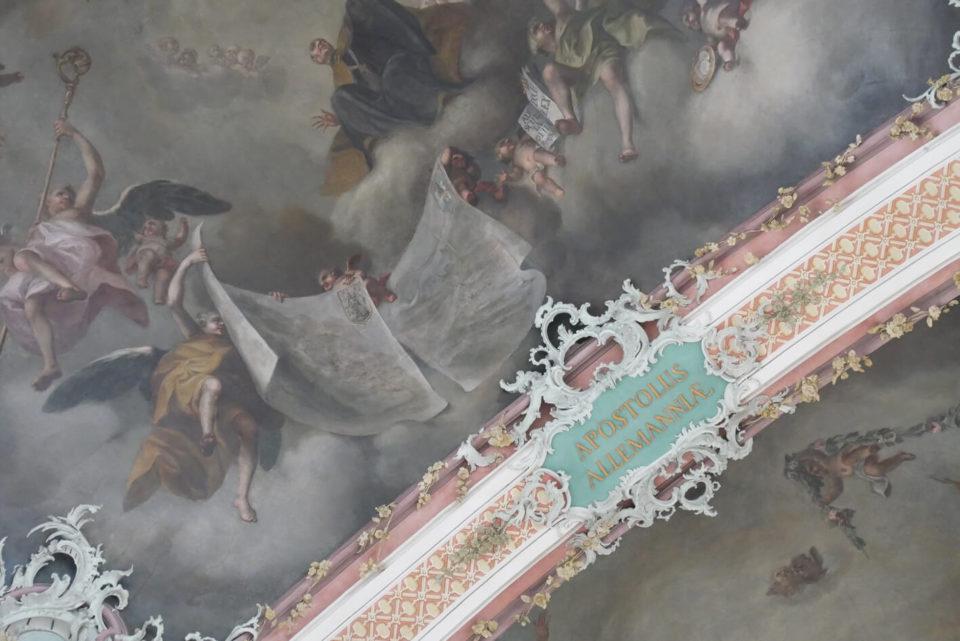 st. gallen stiftskirche decke