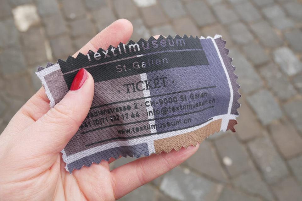 textilmuseum ticket