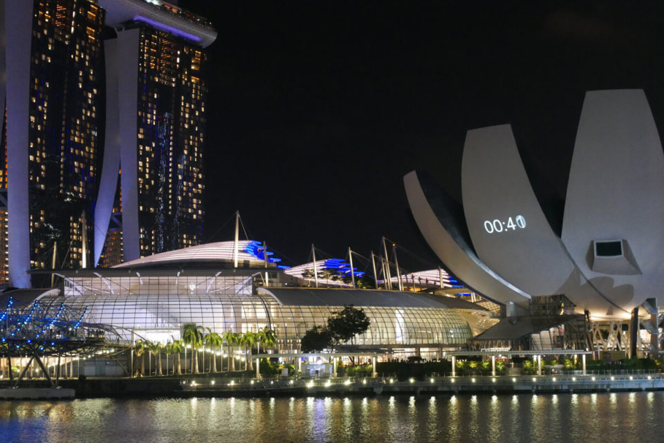 marina bay art science museum