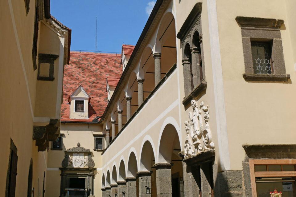 burg riegersburg innenhof